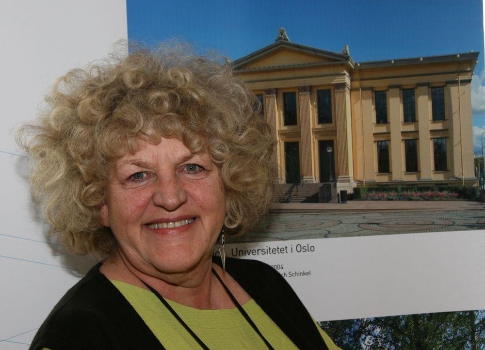 ANNERLEDES: Undervisningsbygg betyr mer for læring enn mange er klar over, mener direktør May Balkøy i Statsbygg. Universitetet i Oslo ville hun definitift ikke bygget slik i dag.