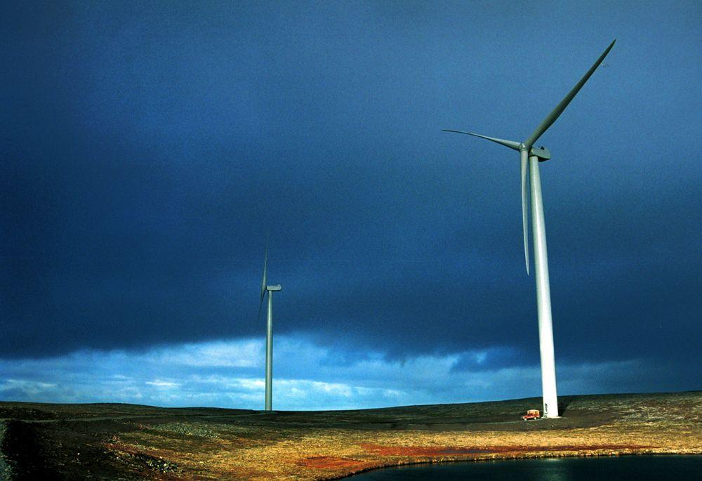 FOR DÅRLIG: Det er spesielt vindkraftsstøtten på 8 øre per produserte kWh som provoserer EBL.