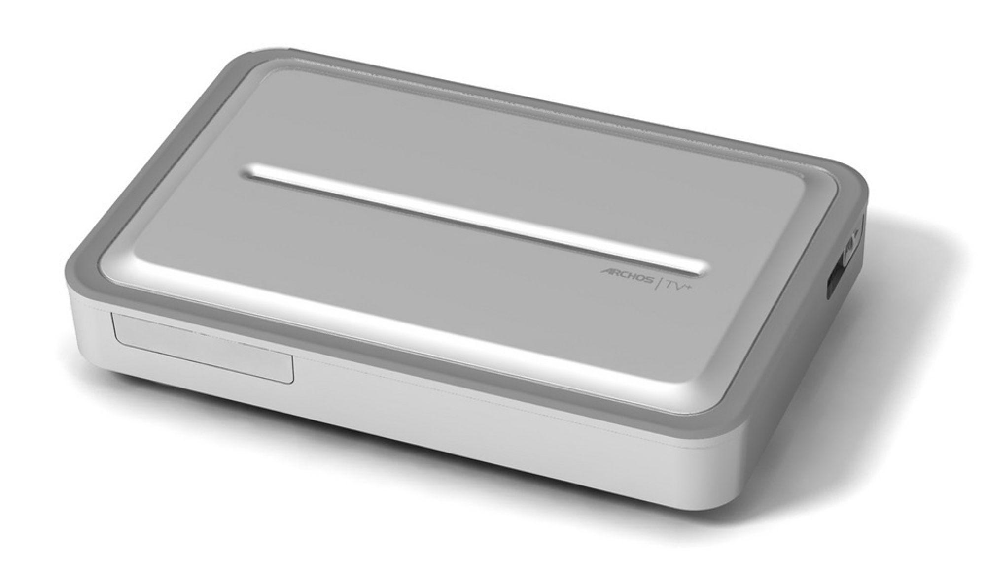 TV-HJELP: Denne boksen har det meste av det en sofasliter trenger foran TV-en. Det trekker ikke ned at boksen ser ut som et stilrent såpestykke i børstet aluminium.