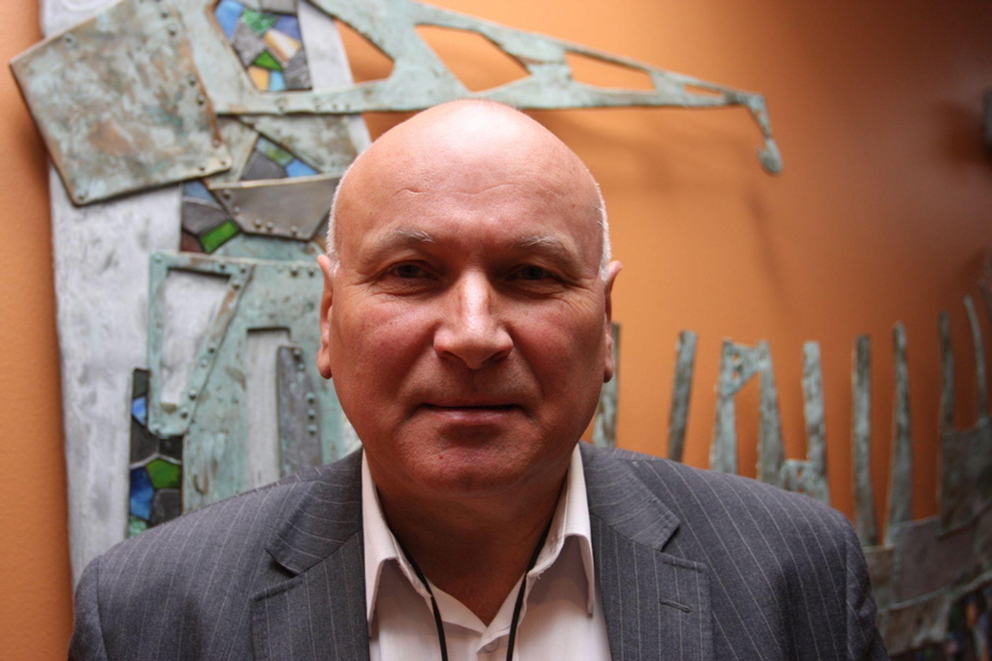 NOK MED ÉN: En ny aktør i bakkenettet kan ødelegge hele forretningskonseptet bak TV-plattformen, advarer Svein R. Aarvig, administrerende direktør i NTV.
