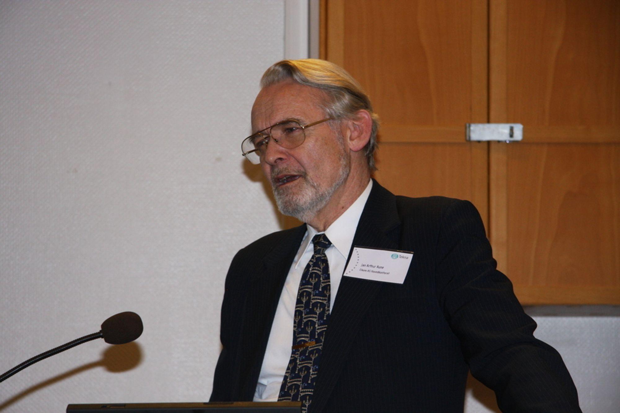 Jan A. Aune, Sjefsmetallurg  i Elkem