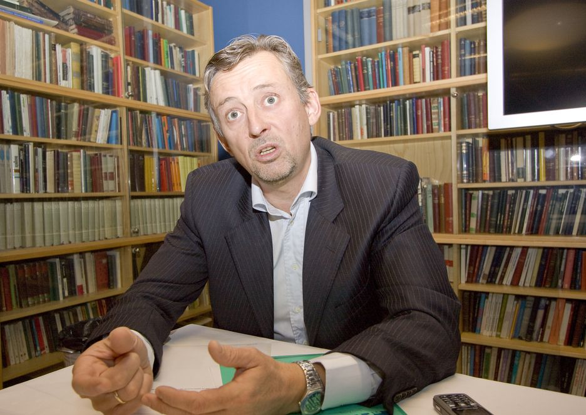 MILJØ OG PENGER: Adm. direktør i Ementor, Steinar Sønsterby tror bevisst grønn IT gir positive utslag på regnskapet.