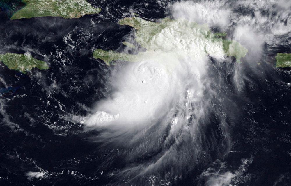 Satelittbilde av orkanen Gustav.