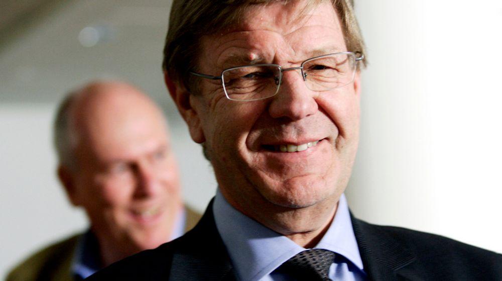 Finn Bergesen jr. inviterer til debatt om norsk skole i NHOs årskonferanse tirsdag.