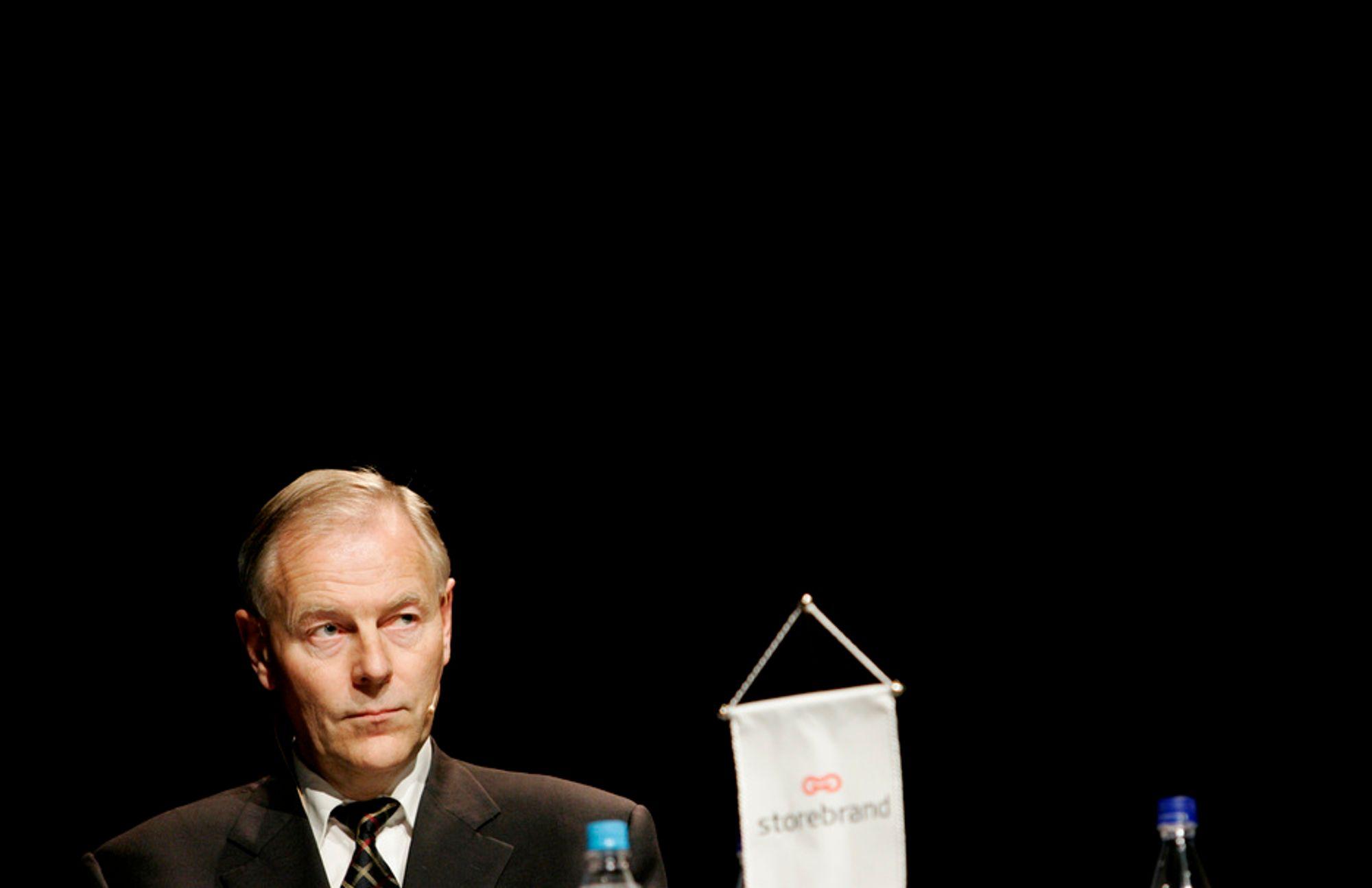 TRAKK SEG: Styreleder Leiv L. Nergaard i Stiftelsen Grip trakk seg torsdag.