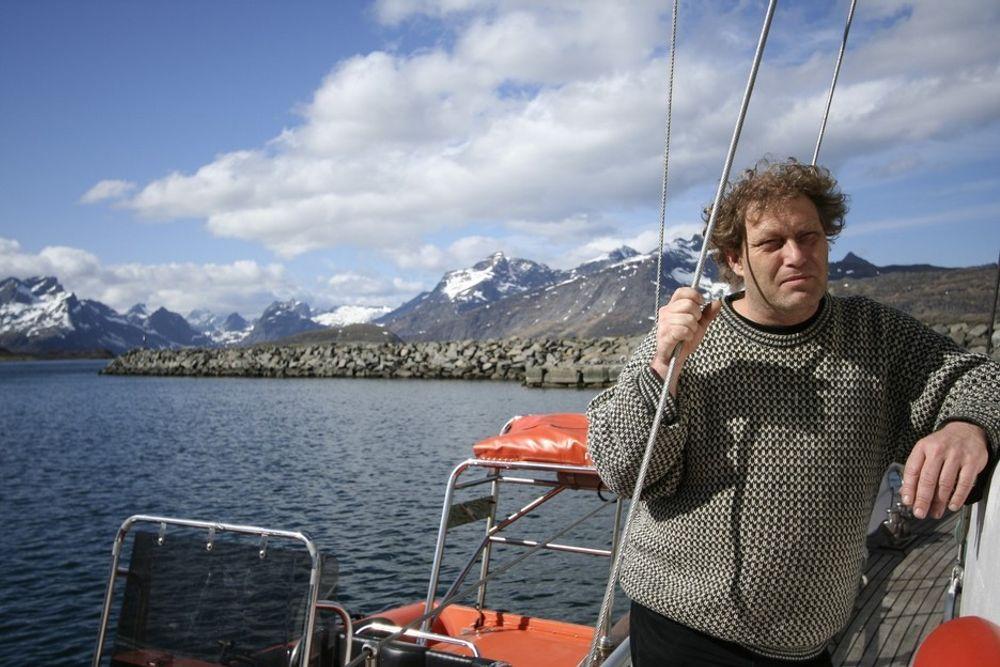 Bellona-leder Frederic Hauge kjemper mot seismikkskyting utenfor Lofoten.