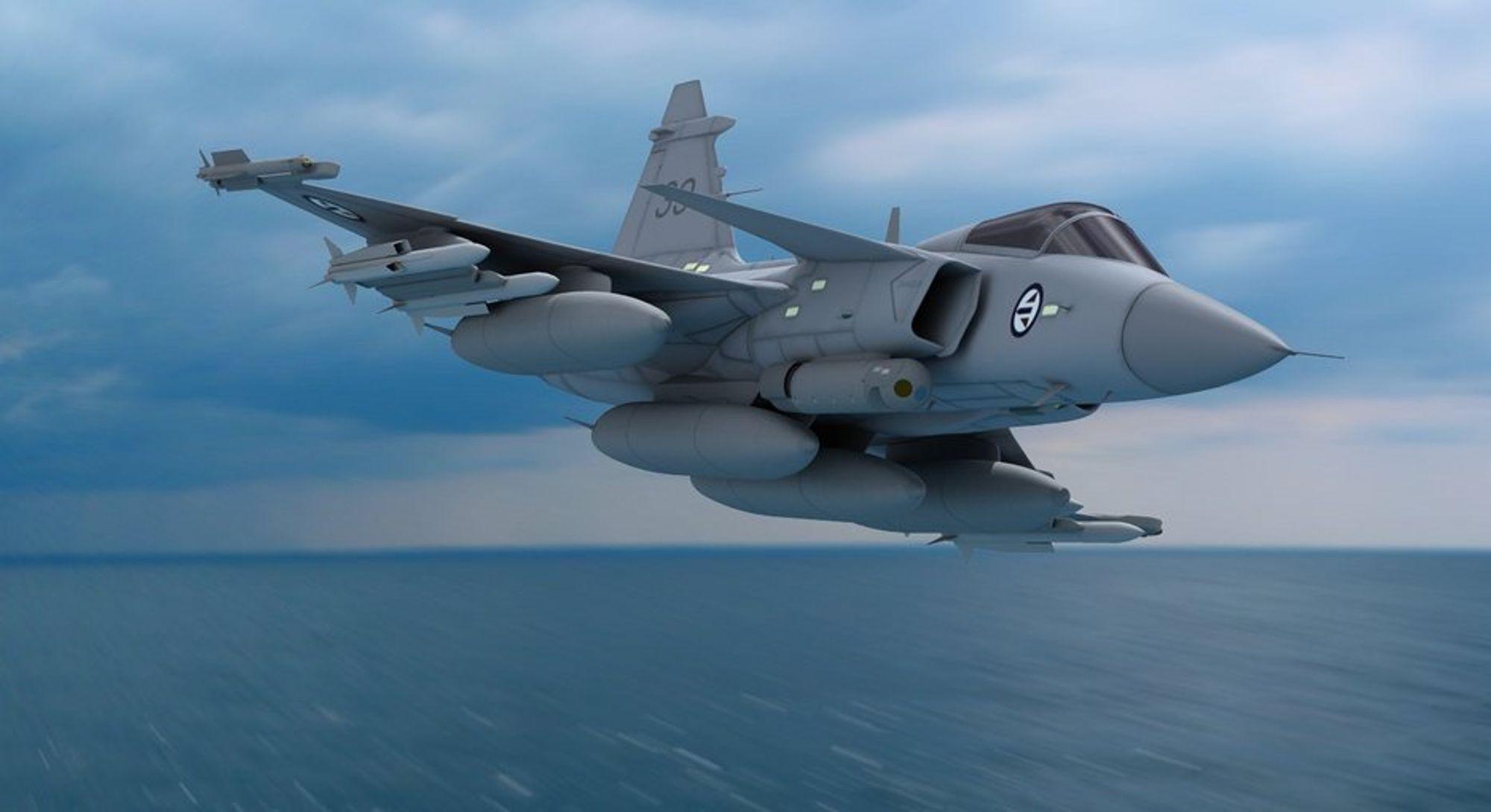JAS Gripen koster Danmark halvparten av JSF med Saabs nye prisgaranti.