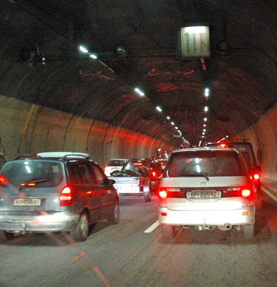 LANG BYTUNNEL: Operatunnelen er 5,8 kilometer fra Ryen i øst til Hjortnes i vest.