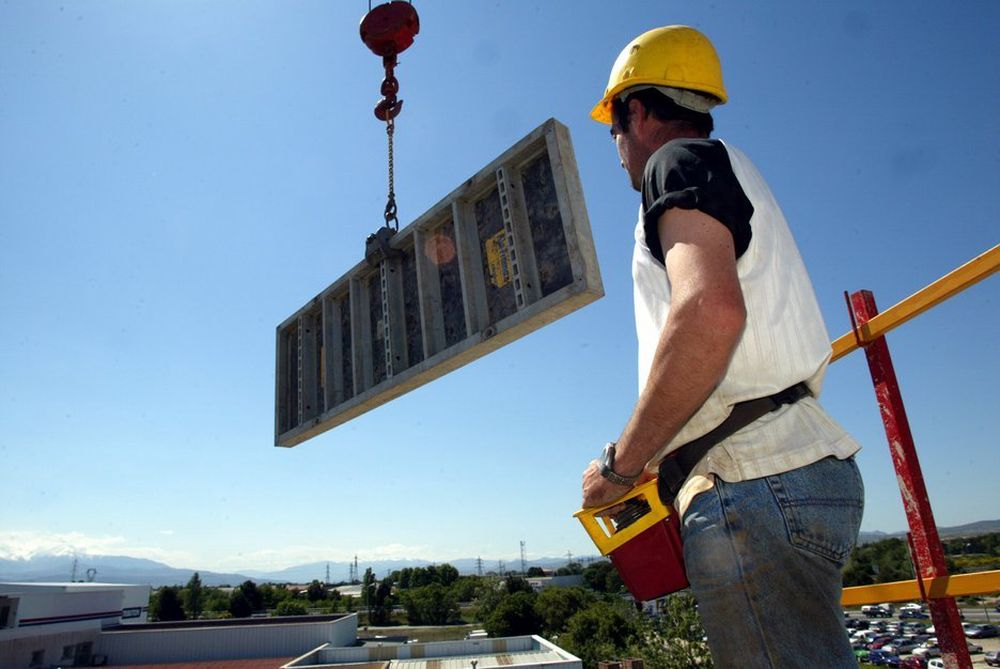 KONKURSRAS: Rekordmange selskaper i byggenæringen åpnet konkurs i første kvartal i år.