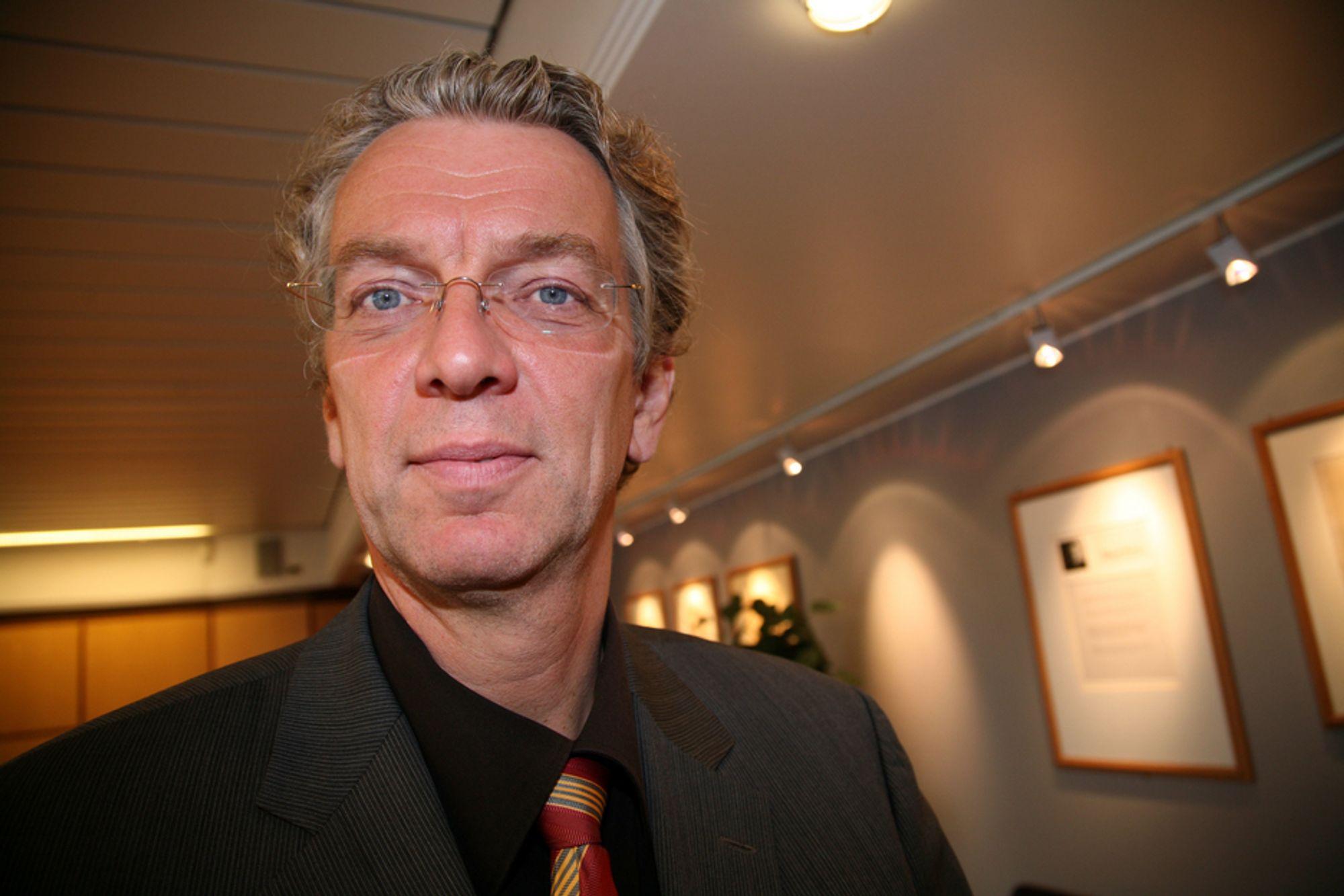 NY JOBB: Econ-direktør Auke Lont, blir ny konserndirektør i Statnett.