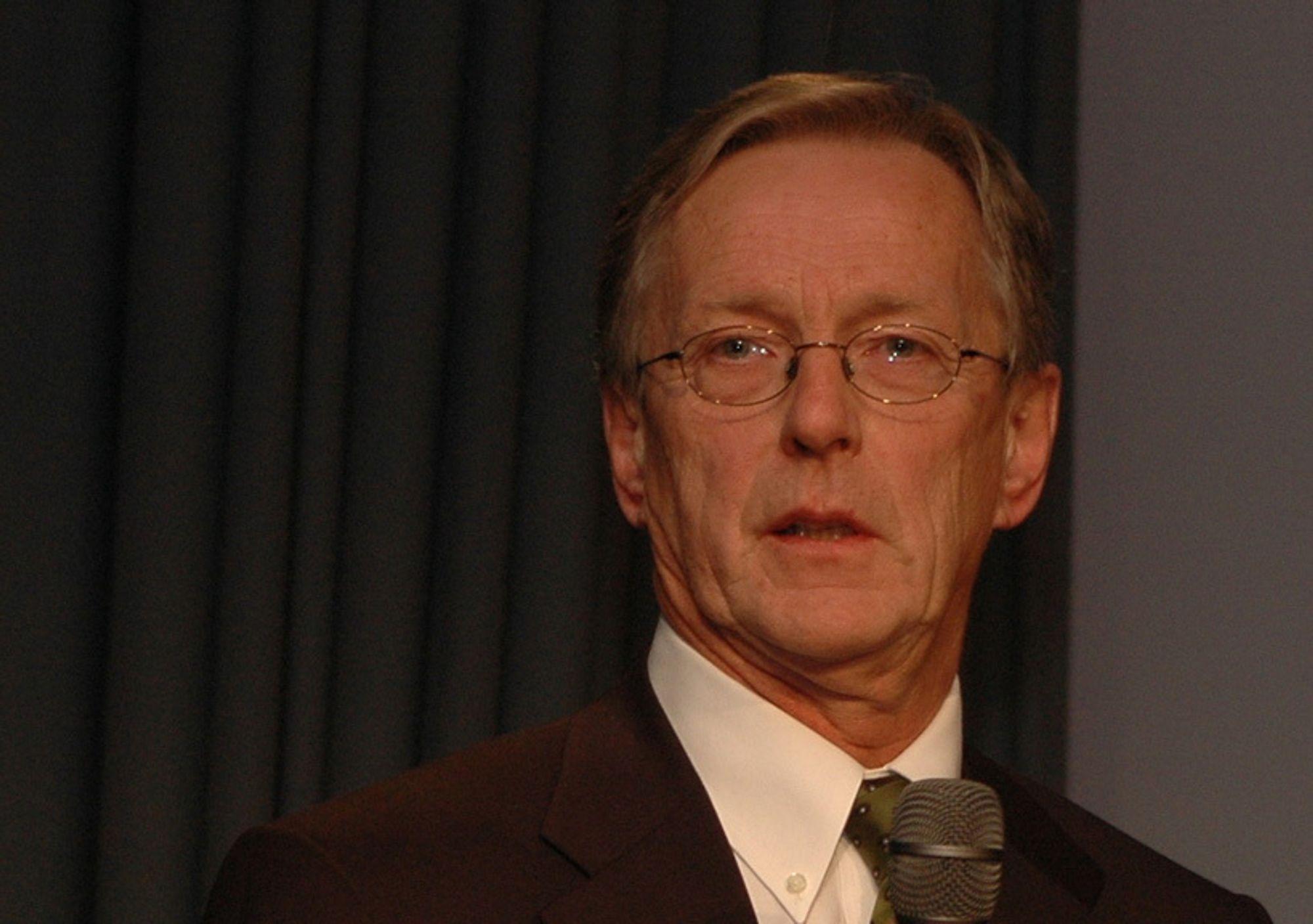 Per Terje Vold, administrerende direktør i Oljeindustriens Landsforening, OLF