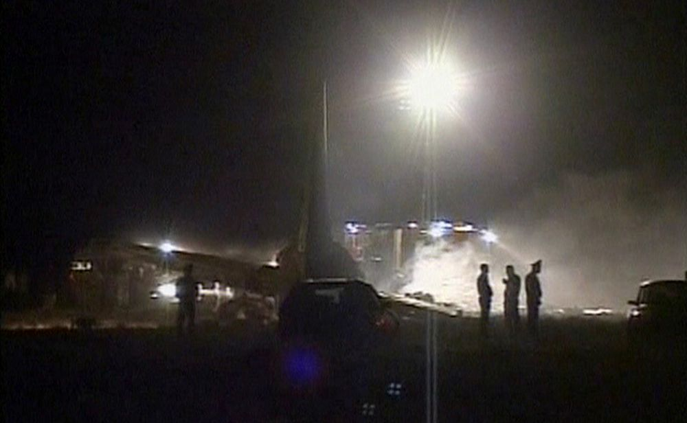 68 omkom i flyulykke i Kirgisistan