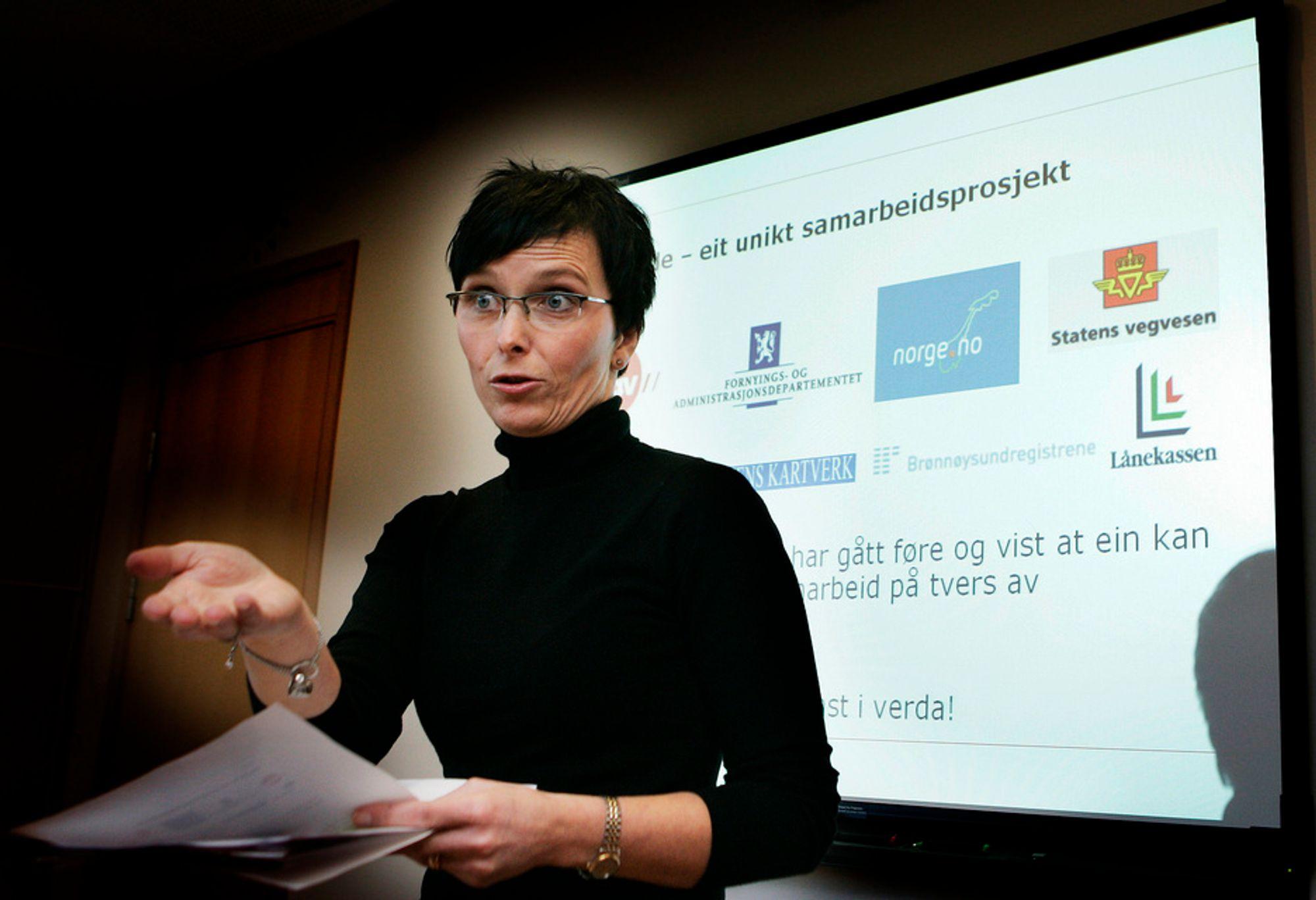 Grande Røys lover større tempo i eID-arbeidet