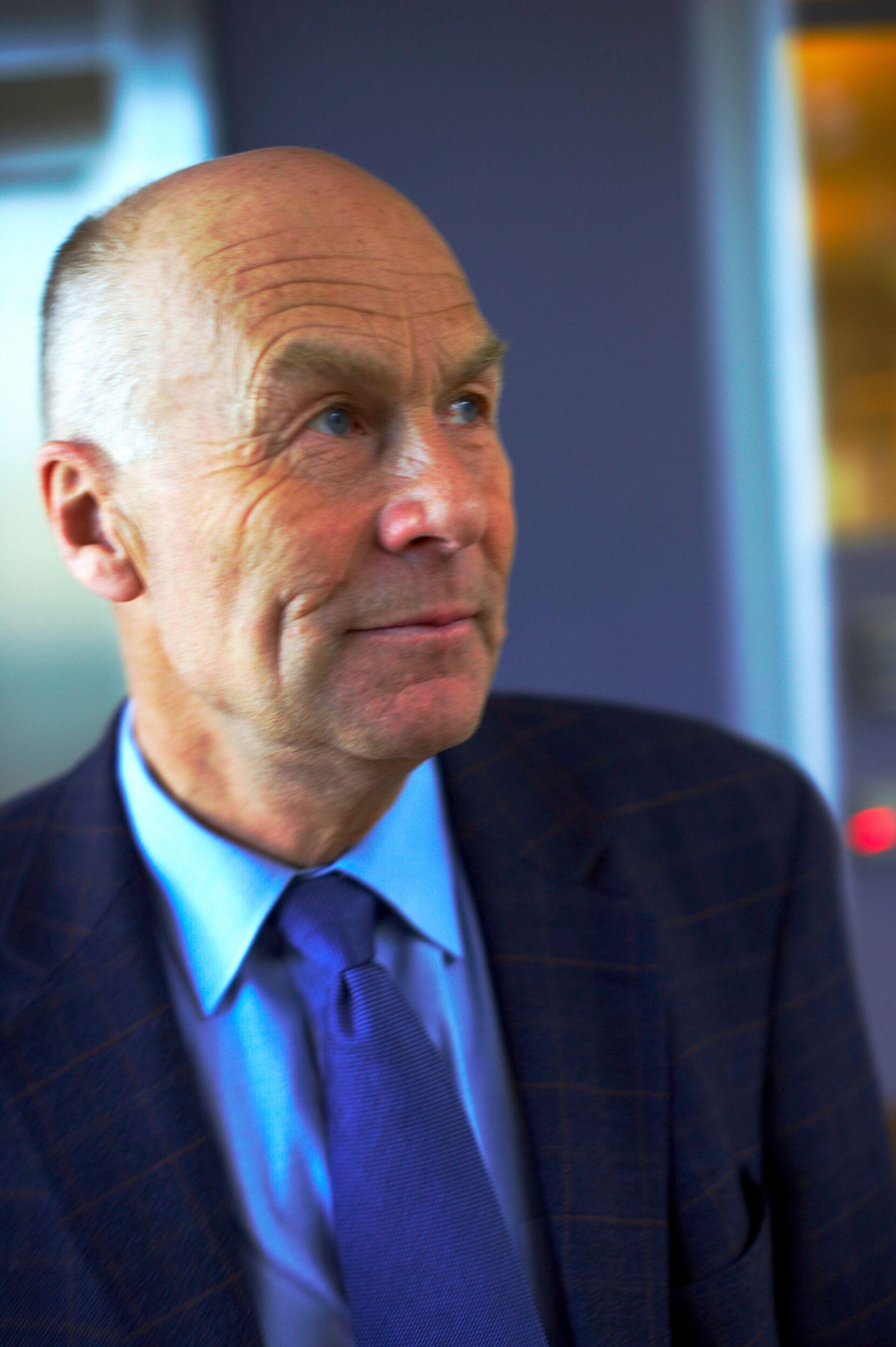 Administrerende direktør i Byggenæringens Landsforening, Sverre A. Larssen.