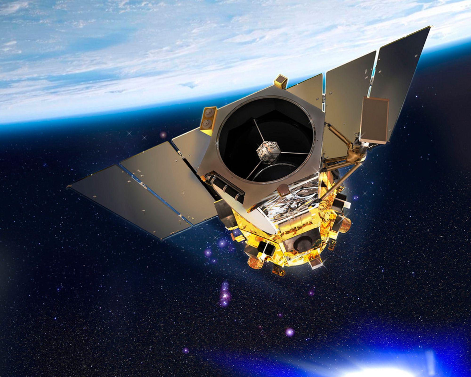 Ny satellitt tar for skarpe bilder