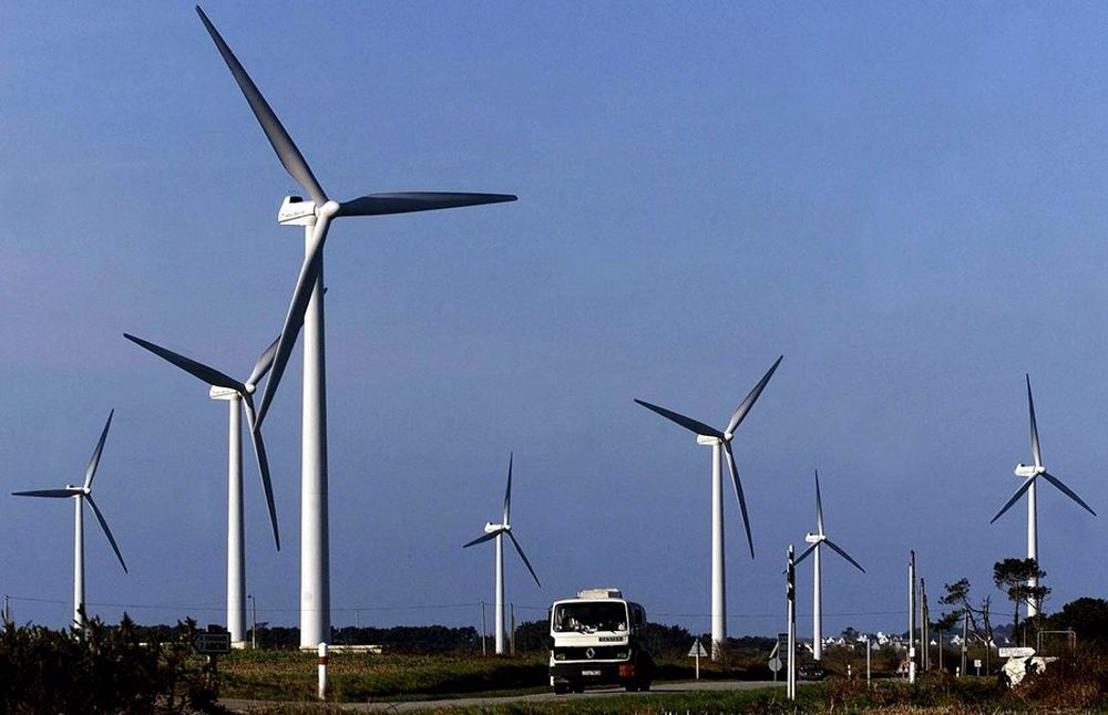 200 nye vindkraftverk er bygget i Sverige i løpet av 2009.