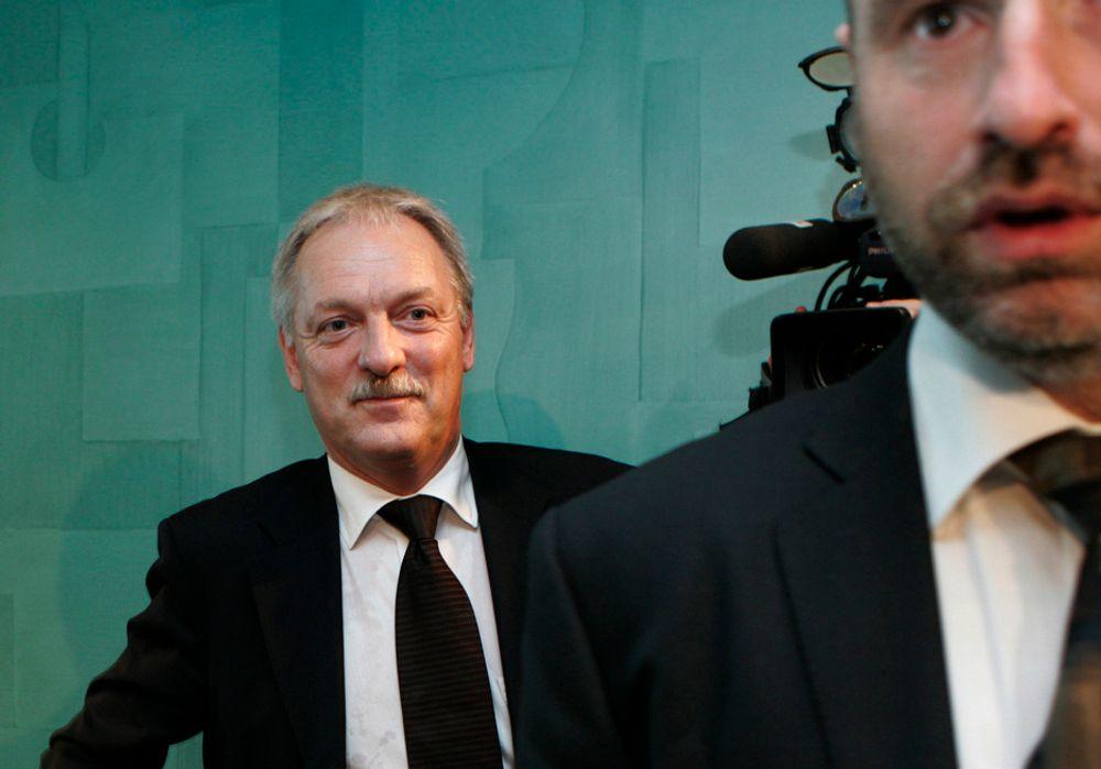 Odd Eriksen vil ikke la SV være til hinder til oljeutbygging.