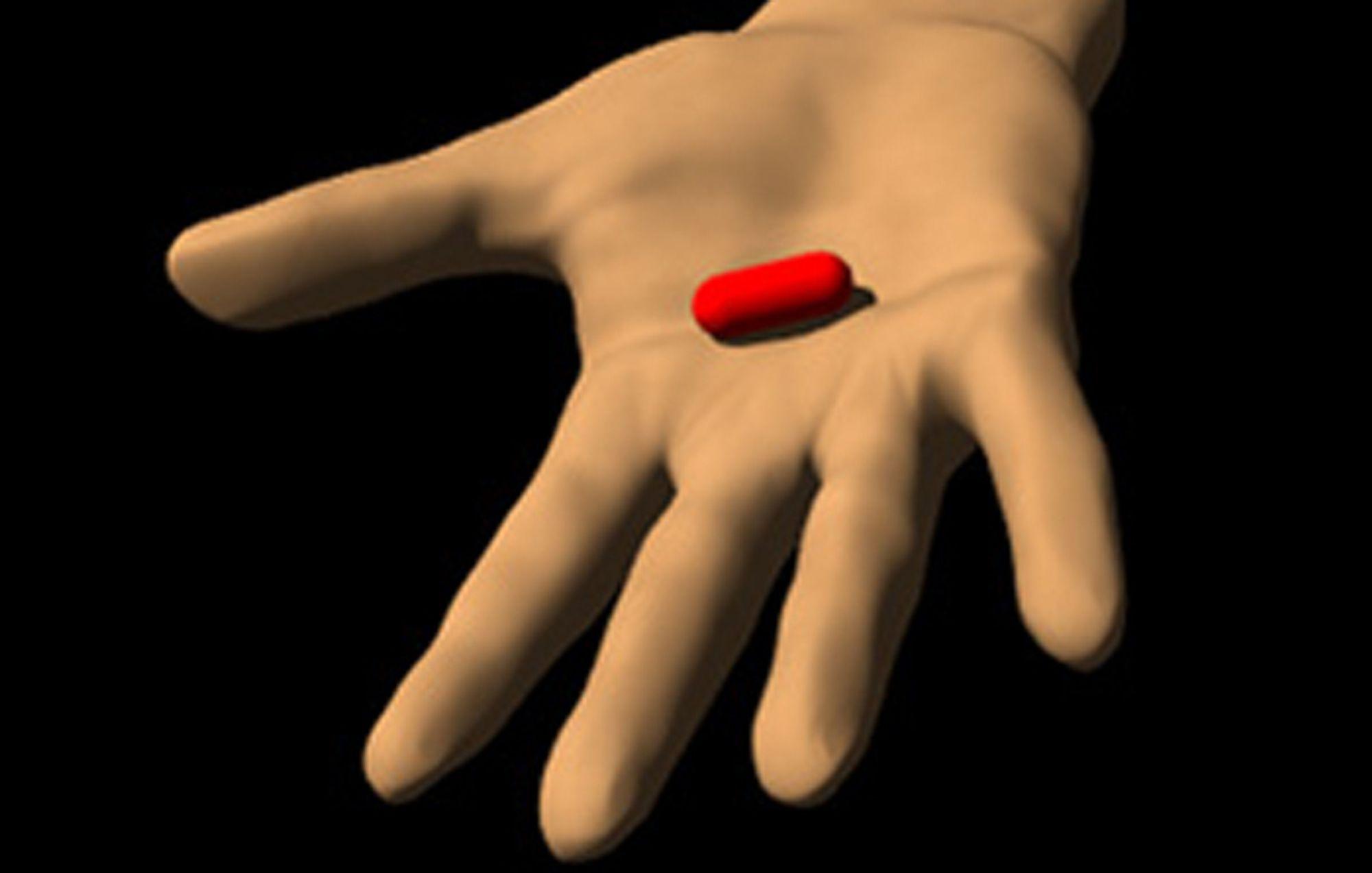 SULTEN: I Matrix-forkloren handler det om å spise den røde pillen. Norske Linpro ble i stedet spist av Redpill.