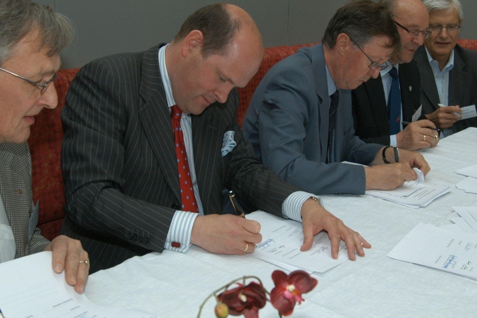 signering NOx avtalen