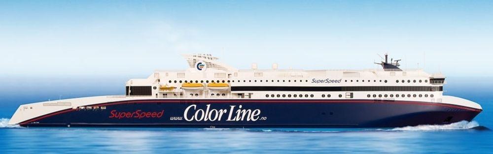 De to nye Superspeed-ferjene til Color Line settes i trafikk på Skagerrak i henholdsvis mars og juni.