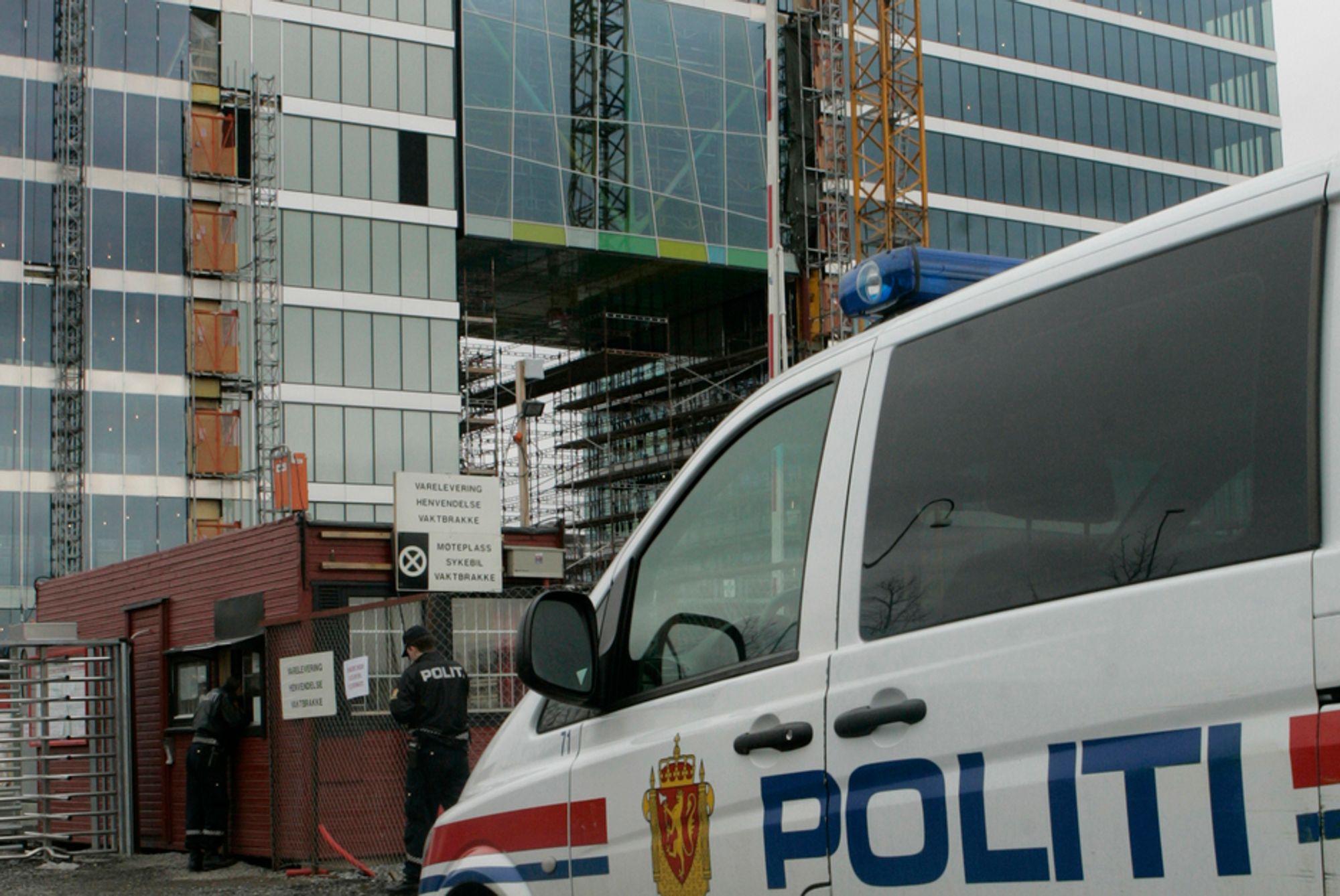 23. mars 2007 falt en bygningsarbeider ned i en sjakt og omkom på en byggeplass i Bispegata i Oslo sentrum. 39 personer omkom i arbeidsulykker her i landet i 2007.