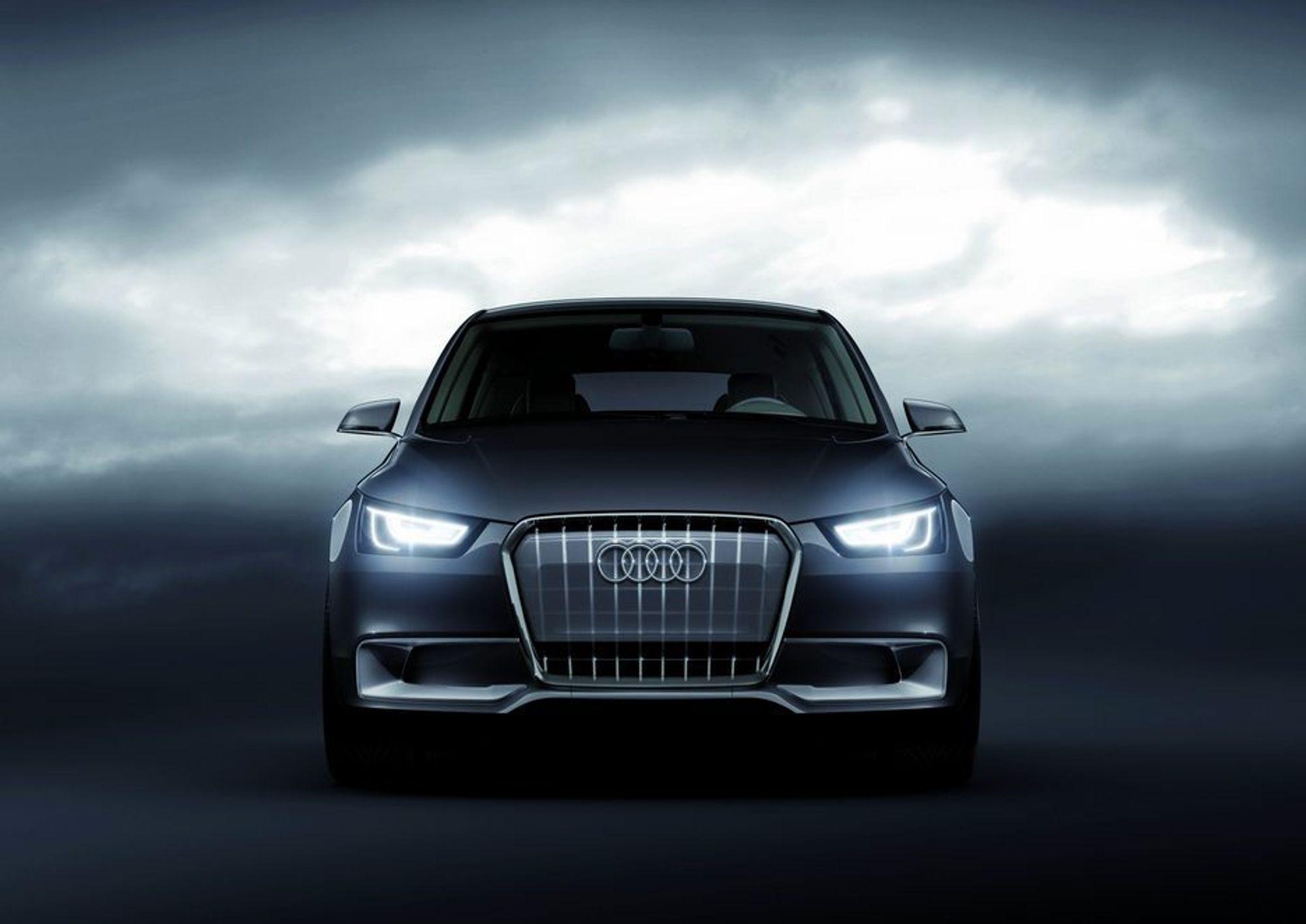 LYSENDE RESULTATER: Audis mangeårige satsing på LED-teknologi begynner å gi kreative resultater.