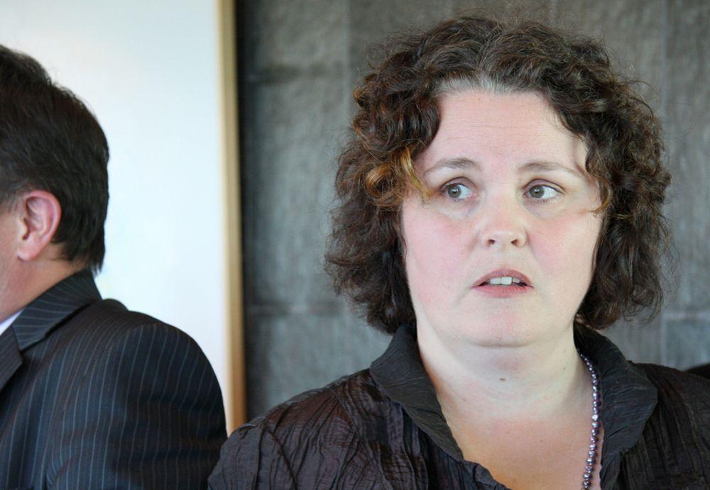 GLADMELDING: Nærings- og handelsminister Sylvia Brustad (Ap) har levert en innovasjonsmelding uten store svakheter, ifølge organisasjons-Norge.