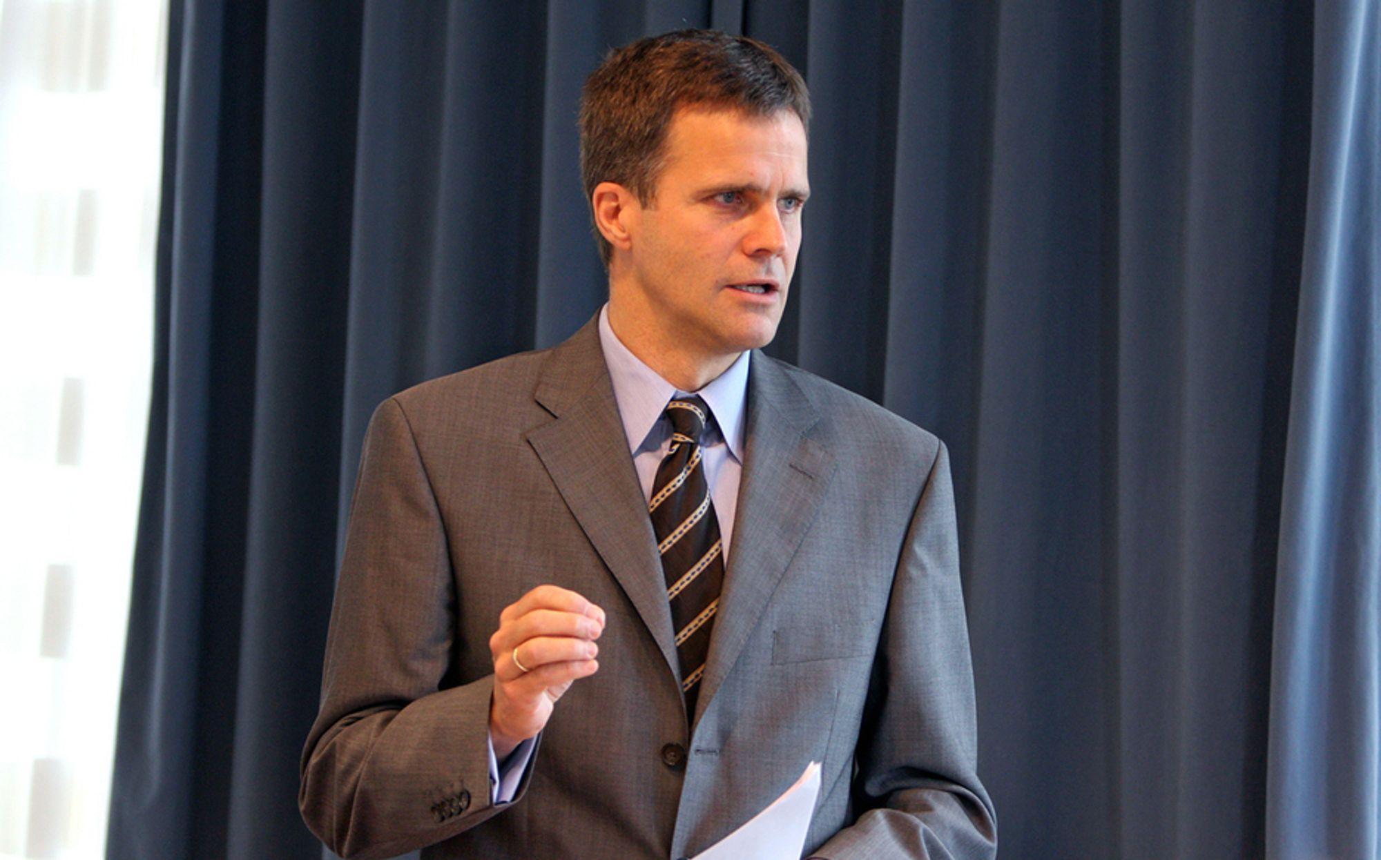 Konserndirektør Helge Lund i StatoilHydro
