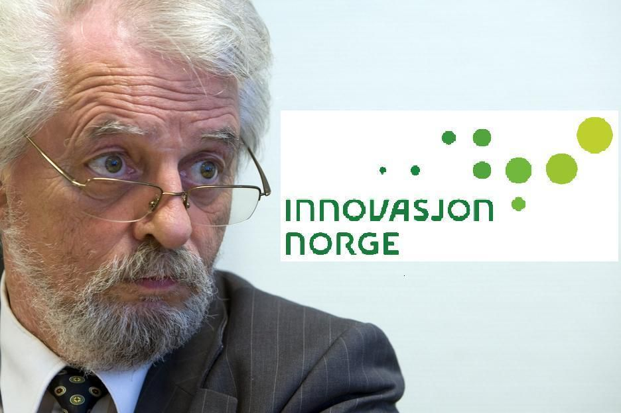 STRENG: Riksrevisor Jørgen Kosmo mener Innovasjon Norge ikke når målene sine for verken innovasjon eller internasjonalisering.