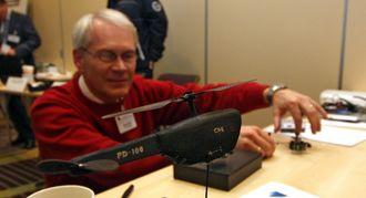 En PD-100-modell like etter at Petter Muren etablerte Prox Dynamics i 2007.