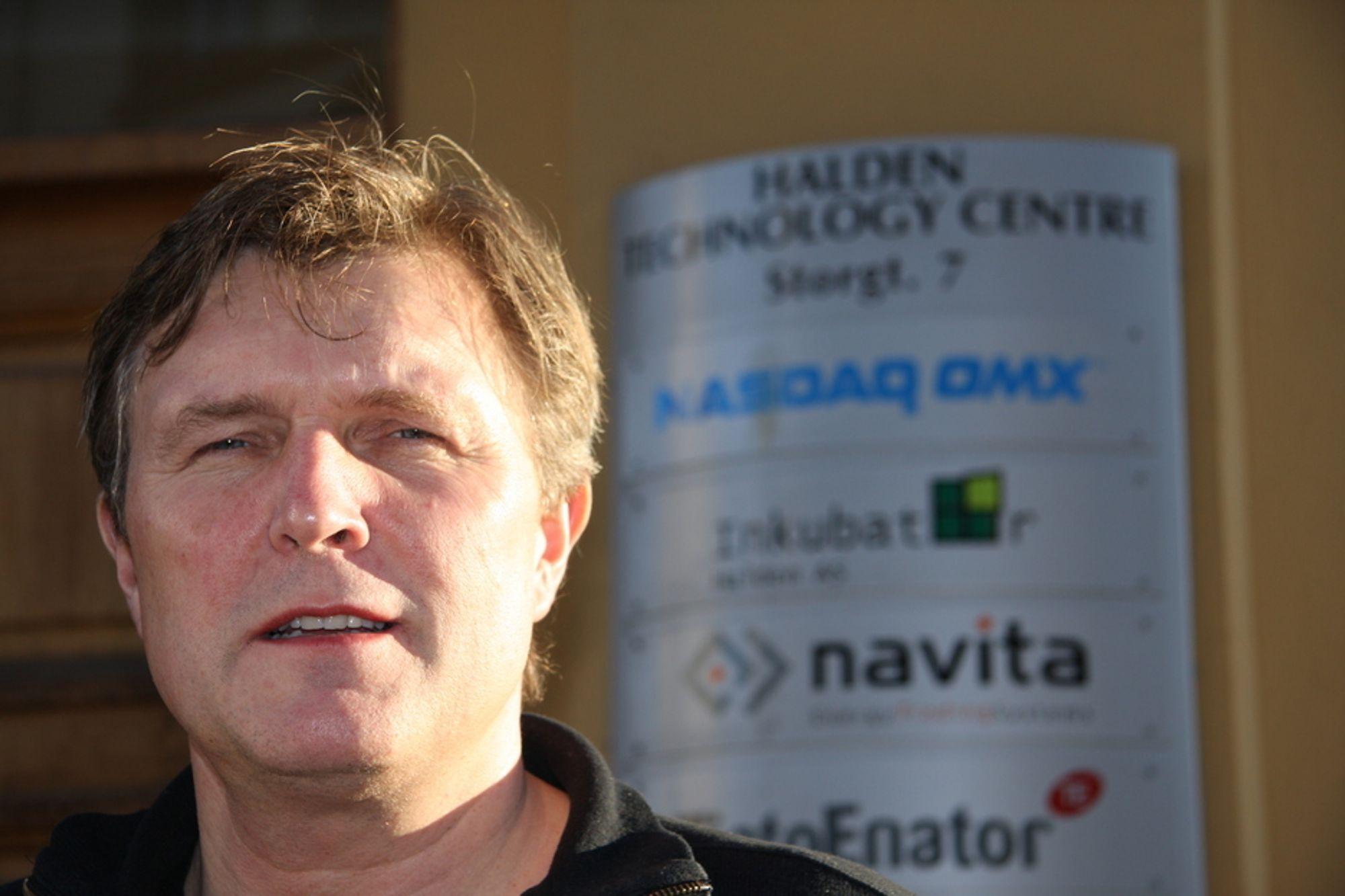 Opprykk: Styringsleder Knut Johansen og Halden Center of Expertise er blitt nasjonalt ekspertisesenter på IT- og energiområdet.