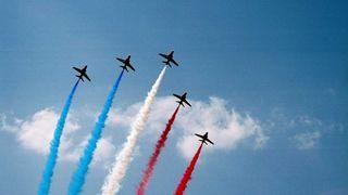 BILDESERIE: Flyshow i England