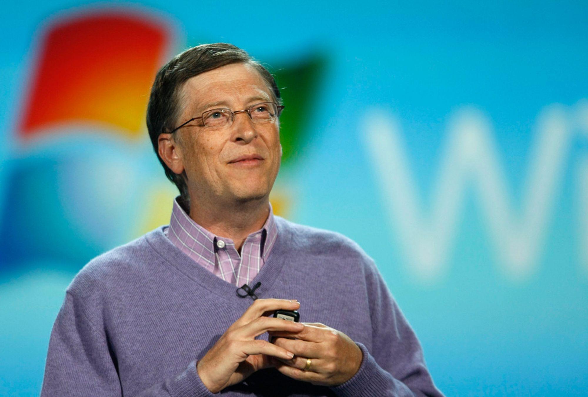 Bill Gates på CES 2008 i Las Vegas.