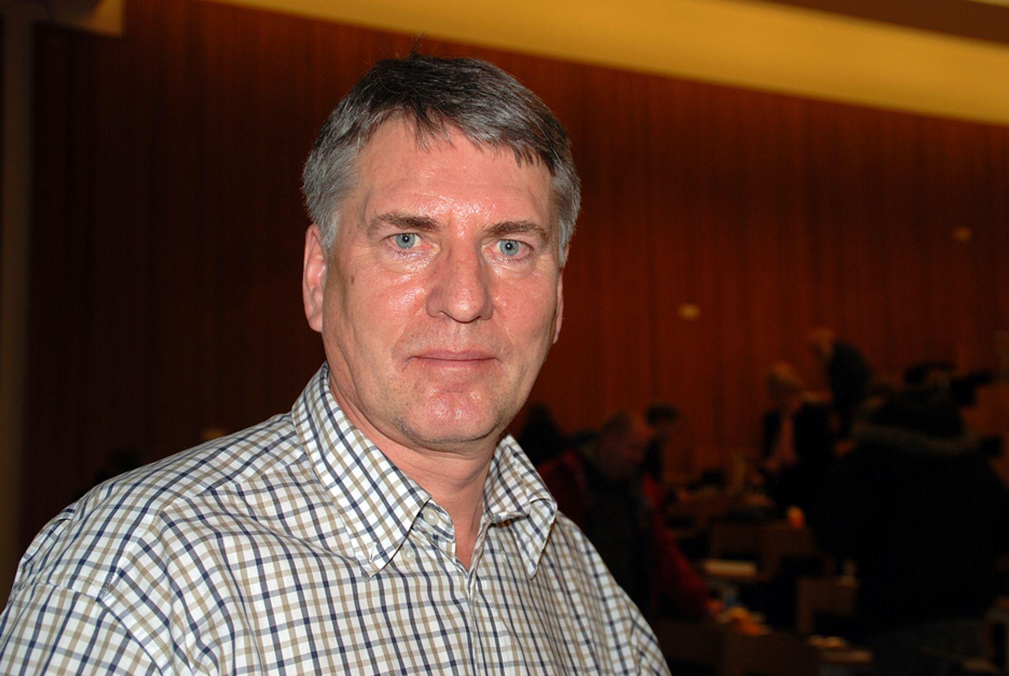 Professor Bjørn Nilsen, Institutt for geologi og bergteknikk, NTNU.