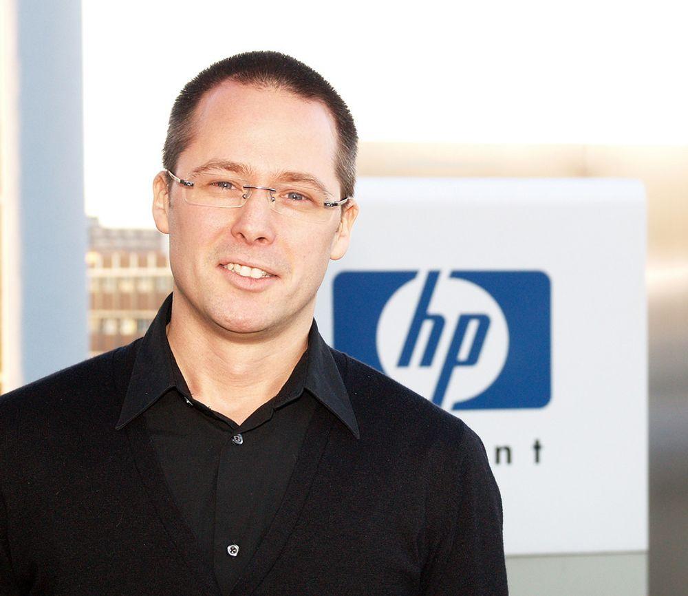 Chris Kirkemo varsler omveltninger i HPs markedstrategi i Norge.