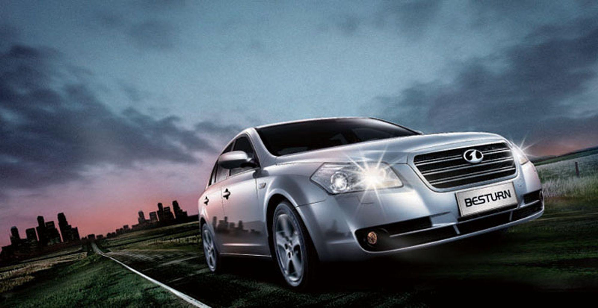 First Automobile Worsk (FAW) er Kinas største bilprodusent, her med modellen Bestturn. Selskapet ble startet i 1953.