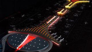 Bygger 97 nye flyplasser