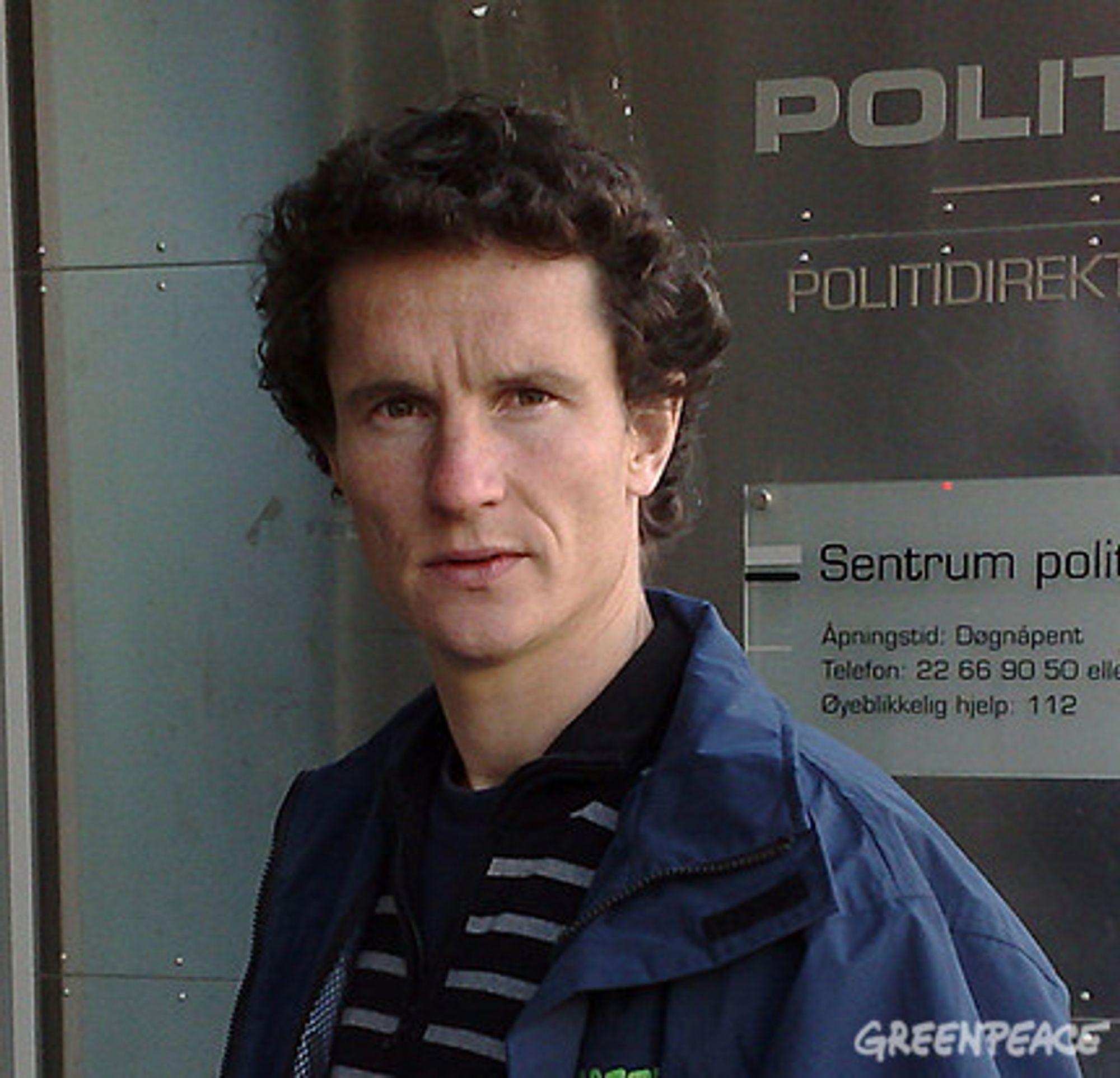 Lederen i Greenpeace Norge, Truls Gulowsen.