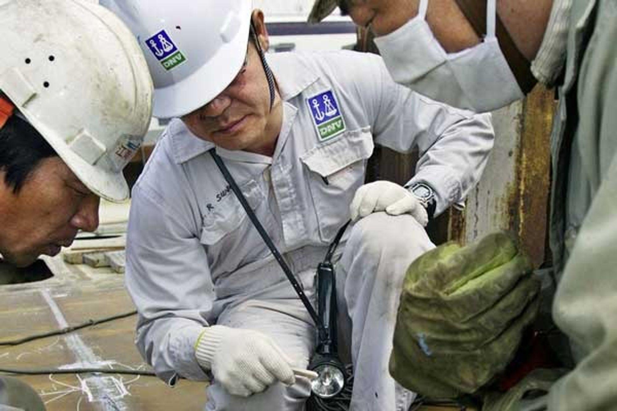 Illustrasjonsfoto fra skipskontroll.