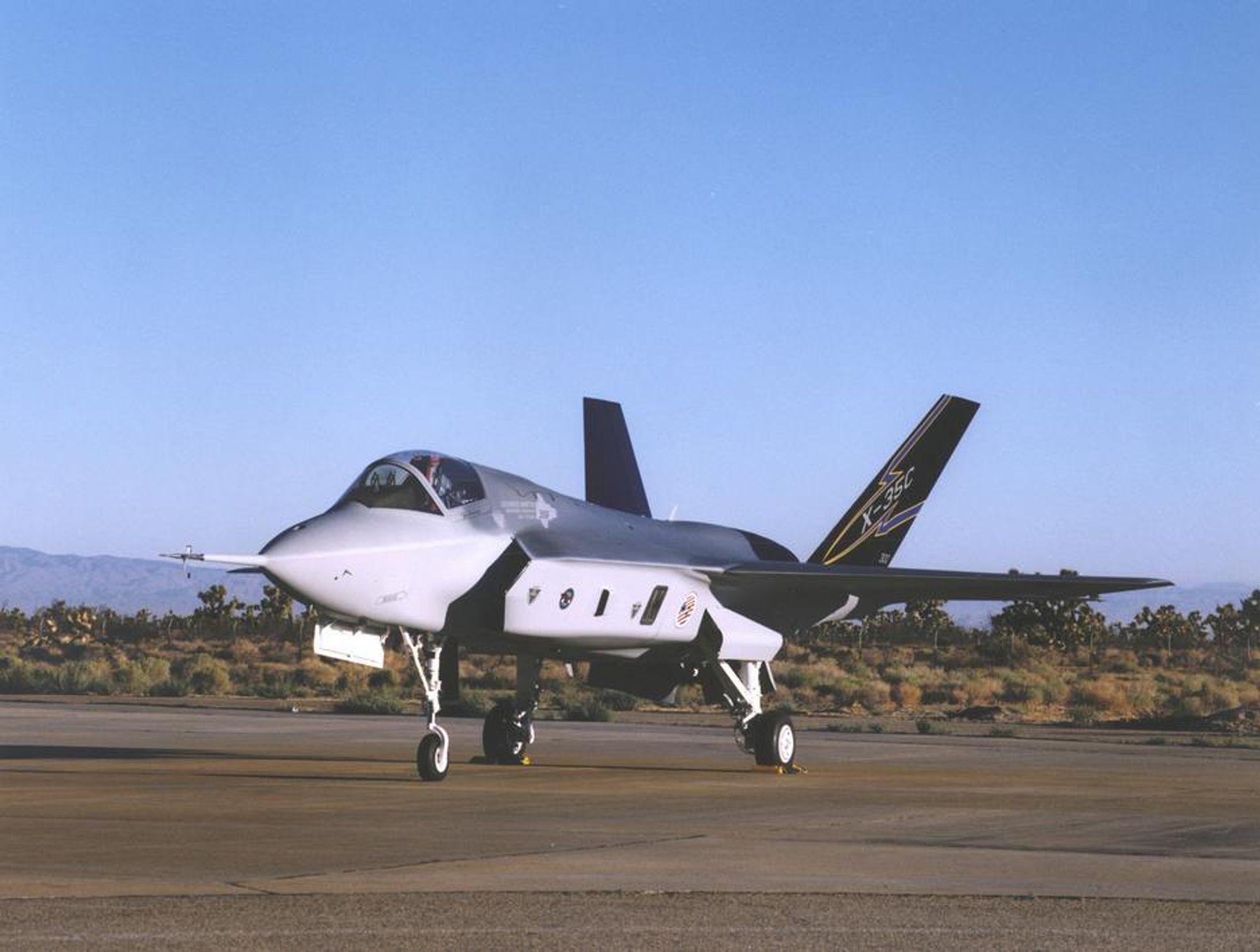 Lockheed Martin sponset Norges USA-ambassade samtidig som deres Joint Strike Fighter (bildet) konkurrerer om å bli Norges nye kampfly.