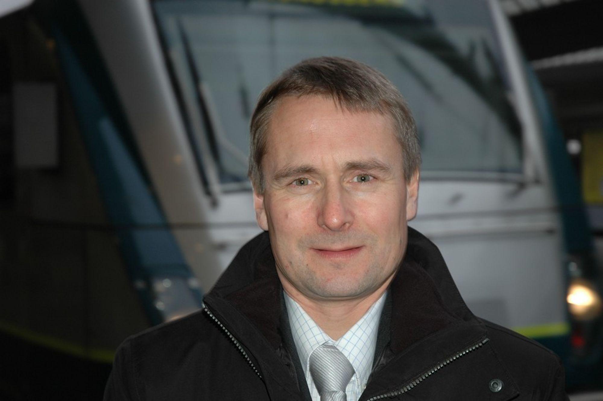 Stein Nilsen konserndirektør leder for NSB Persontog