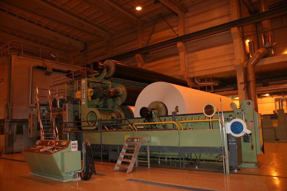 TETT I PAPPEN: Norske Skogs styre får gjennomgå etter tull med flytting av papirmaskiner til Brazil.