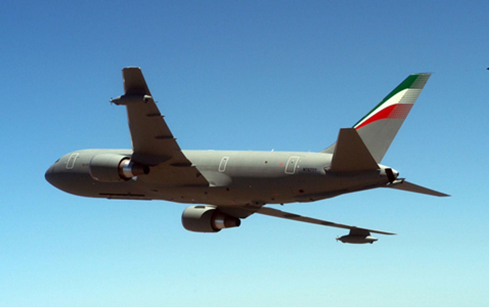BOING BOING I LUFTA: En intaliensk 1 KC-767A Aerial Tanker fra Boing.