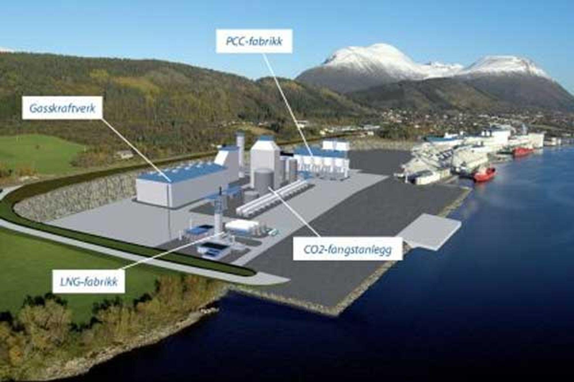 """Mørekraft søkte i 2006 om konsesjon i for bygging og drift av et industrikraftverk på opptil 450 MW i tilknytning til Hustadmarmor AS sin virksomhet i Elnesvågen i Fræna kommune, nær ilandføringsstedet for gass fra """"Ormen Lange"""" på Nyhamna. NVE sa nei, men aktørene har anket. SFT vil at CO2-utslippene isåfall skal renses og deponeres."""