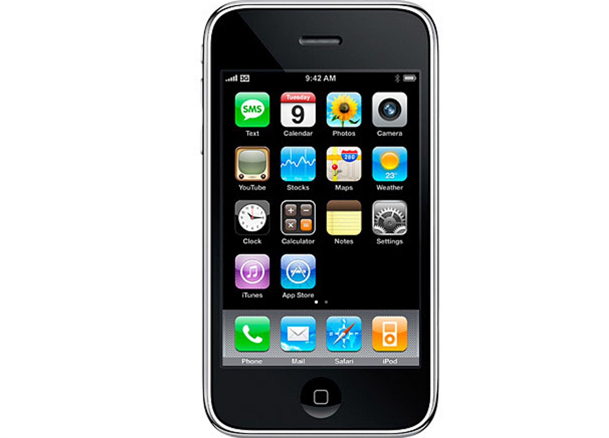 Apple iPhone 3G.