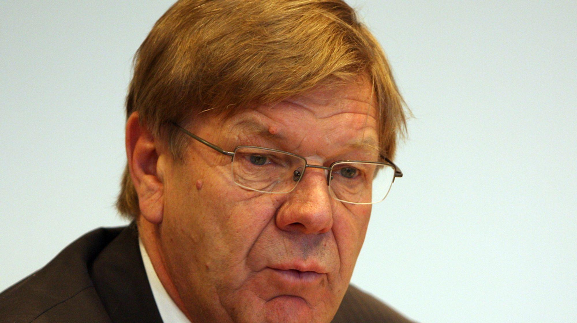 BEKYMRET: NHO-direktør Finn Bergesen jr..