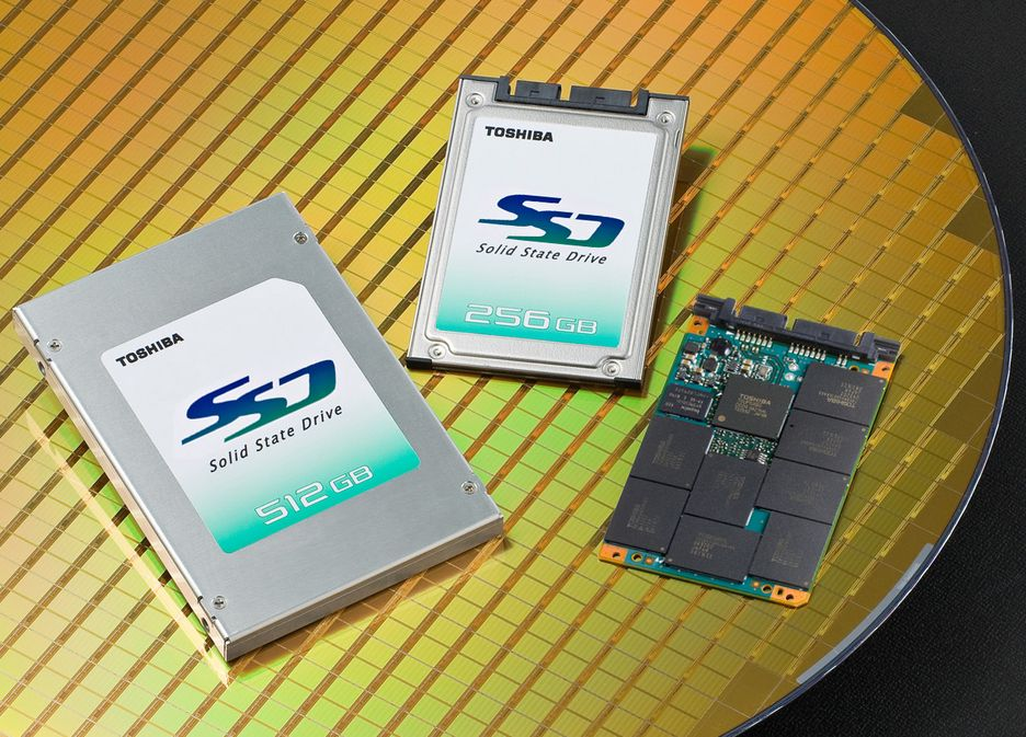 Toshiba SSD.