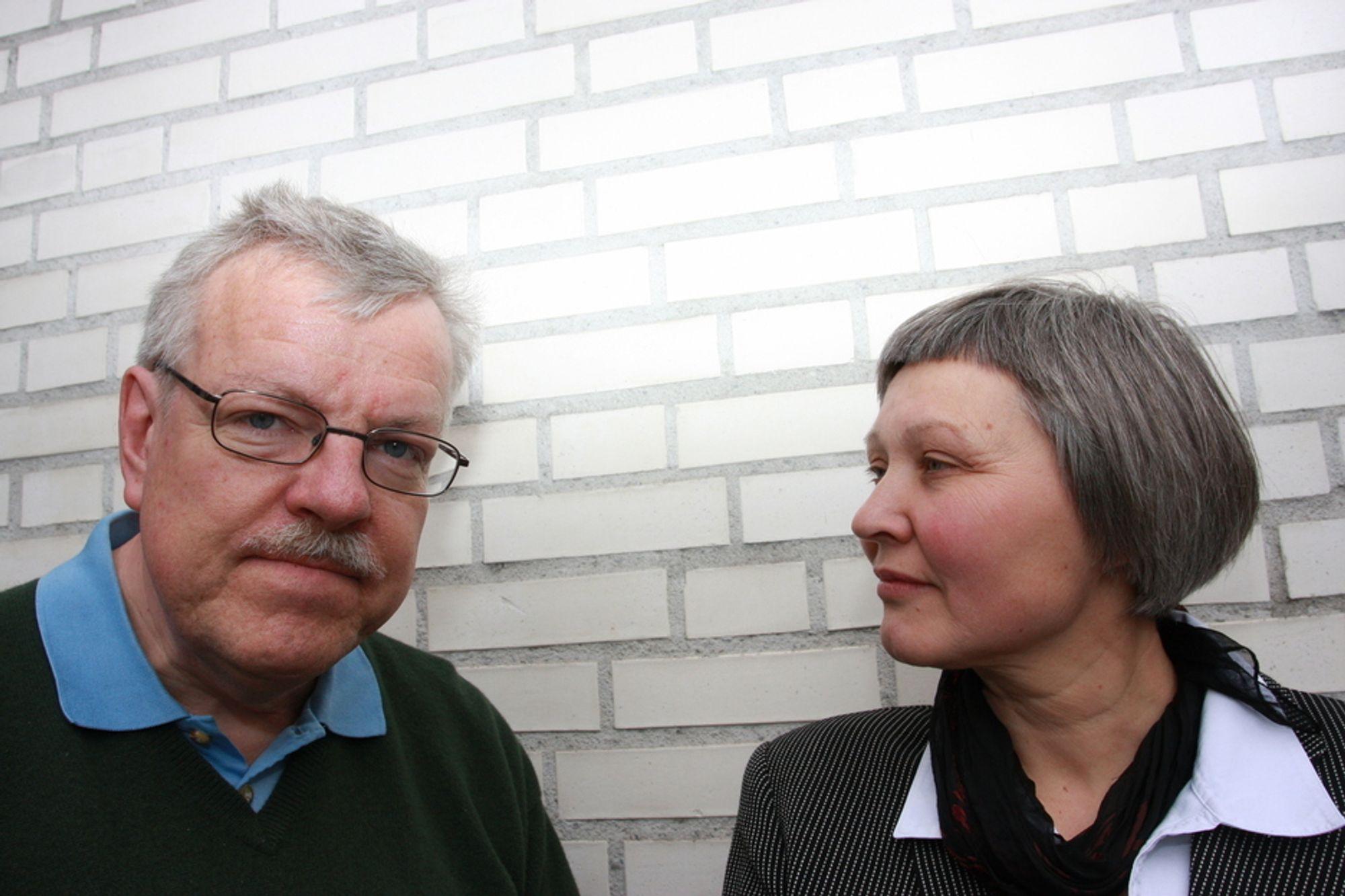 KJEMPER FOR AKSEPT: Solveig Glomsrød og Foreningen for el-overfølsomme (FELO) kjemper for merkelappen medisinsk diagnose. Den svenske neurologiprofessoren Olle Johansson kjemper for å få forske mer på fenomenet.