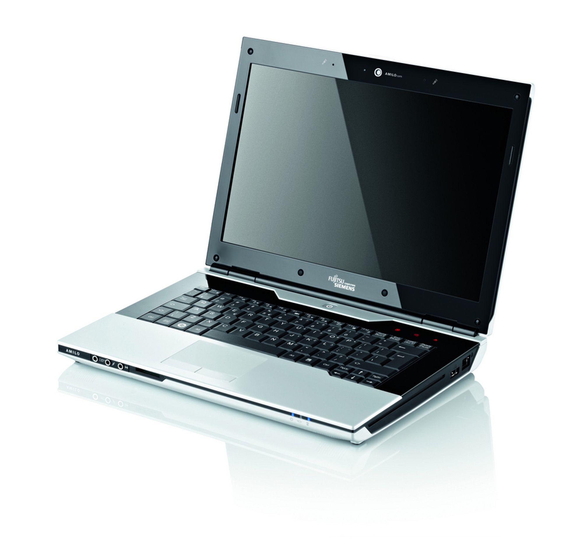 RASKT UTE: Fujitu Siemens var ute med nye modeller samme dag som AMD lanserte sine nye prosessorer for bærbare PC-er.