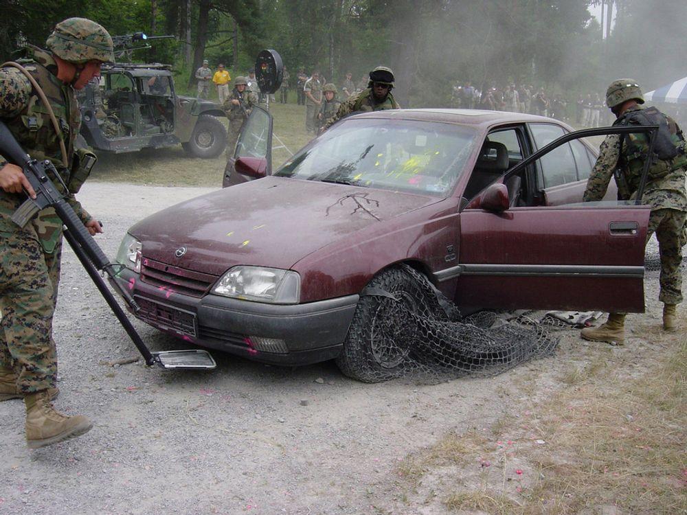 X-Net får en flyktende bil til å stanse i løpet av noen meter, maks 75, ifølge det britiske selskapet bak oppfinnelsen.